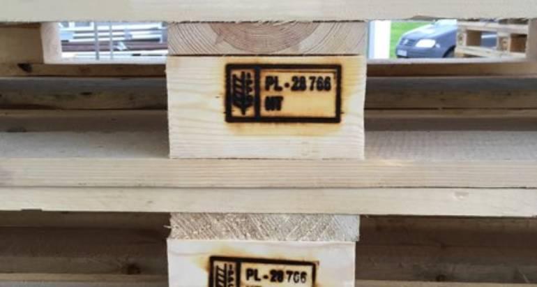 Norma IPPC 15 dla palet i opakowań drewnianych